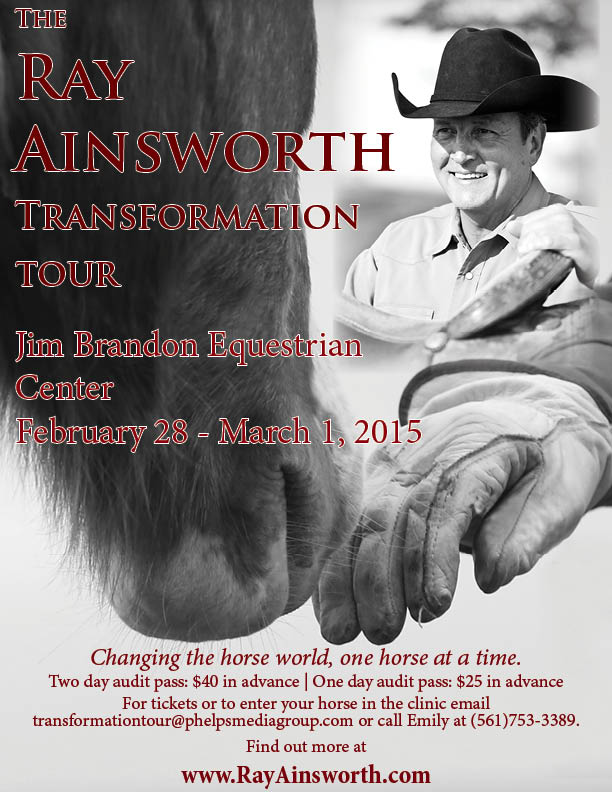ray ainsworth transformation tour 2015